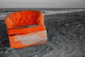 The Orange Chair